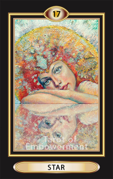 The Star Card - Tarot of Empowerment Deck by Judith Sult and Gordana Curtis