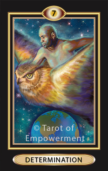 The Determination Card - Tarot of Empowerment Deck by Judith Sult and Gordana Curtis