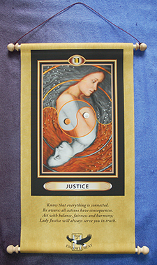 tarot of empowerment card deck wall hanging Scroll-version-225