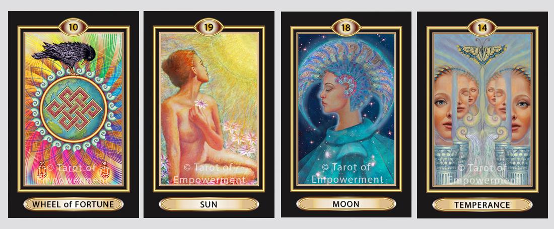 tarot of empowerment cards